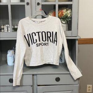 Women cropped sweatshirt